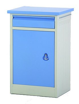 HD-7 2018 Hospital Medical Epoxy Coating Bedside Locker From China pictures & photos