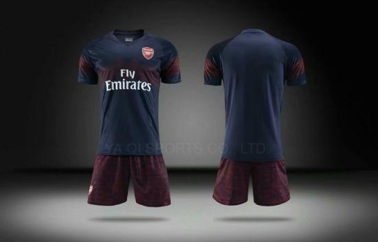 0574f6cd3e831f China Thailand 2018-2019 Hot Sale Red Black Grace Custom Arsenall Away Team  Football Shirt Maker Soccer Jersey - China Football Shirt, Soccer Shirt