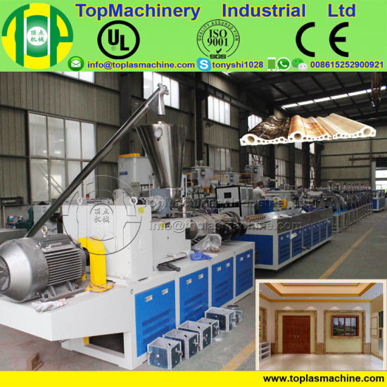 Picture Frame Making Machine For Extruding Ps Eps Photo Frame By Recycled Hips Eps