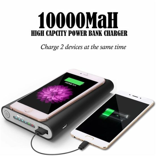 Latest New Best Rated Low Cost High Quality Cordless Mobile Cell Phone Charger Chargers Charging Station Pad 10000 Mah Battery Bank