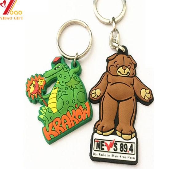 Custom Cartoon PVC Key Chain for Promotional Gift