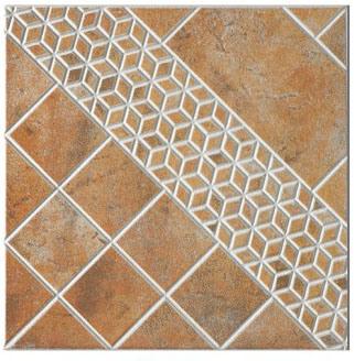 400*400mm Rustic Tiles Non-Slip Face Ceramic Glazed Floor Tile (GL4A309)