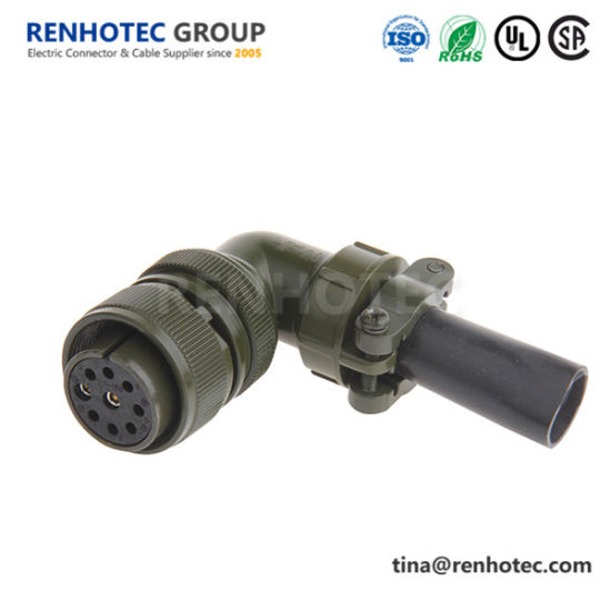 Ms3108A20-16s Right Angle Class a Size 20 9 Contact Circular Military Connector