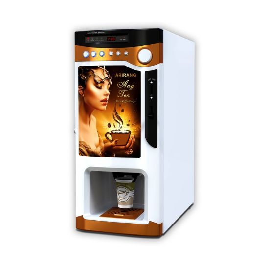 Espresso Coffee Vending Machine for Offices/Hotels/Restaurants (3 flavors)