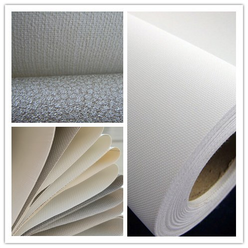 Weaving Mesh Fabric in Roll Backing for Industrial Materials