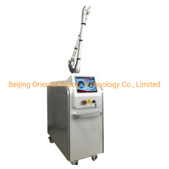 2000W Picosecond Laser Tattoo Removal 755 1064 532nm 3 Wavelength