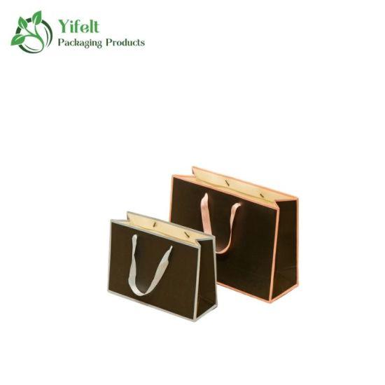 Manufacturer Custom Logo Luxury Printed Gift Shopping Paper Gift Bag