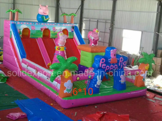 2018 Amusement Park Inflatable Bouncer Castle, Inflatable Bouncer Slide for Sale pictures & photos