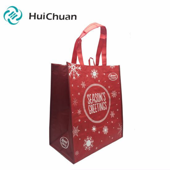 Recyclable Heat Press Nonwoven Funny Shopping Bag