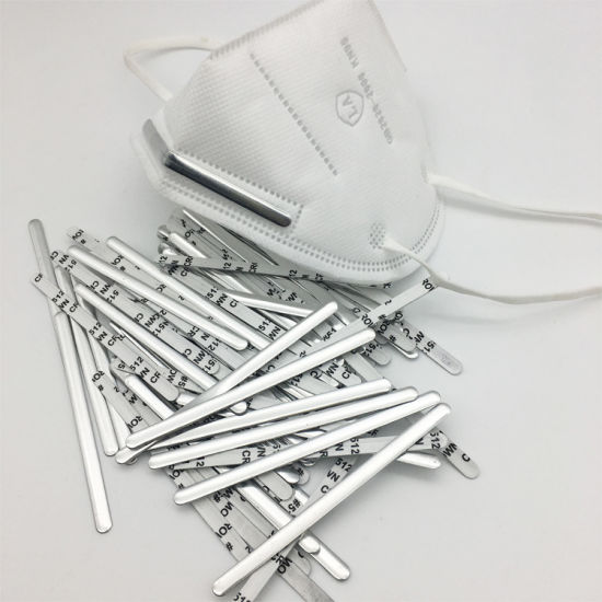 China N95 Kn95 Face Mask Nose Wire Nose Bar Bridge For Face Mask