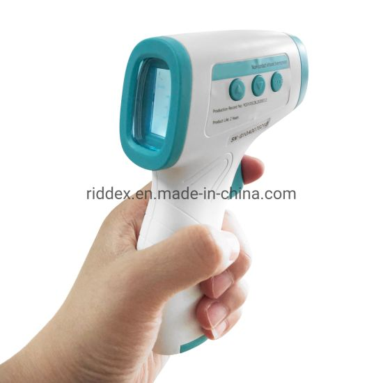 Body Surface Electronic Non Contact Digital Infrared Forehead Thermometer