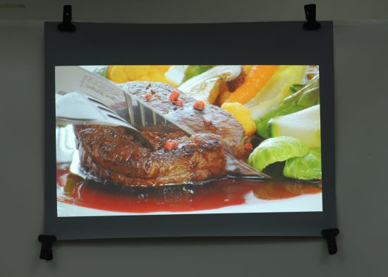 1.52X10m 3D Holographic Rear Projection Film with 92% High Transmittance /Excellent Image Quality
