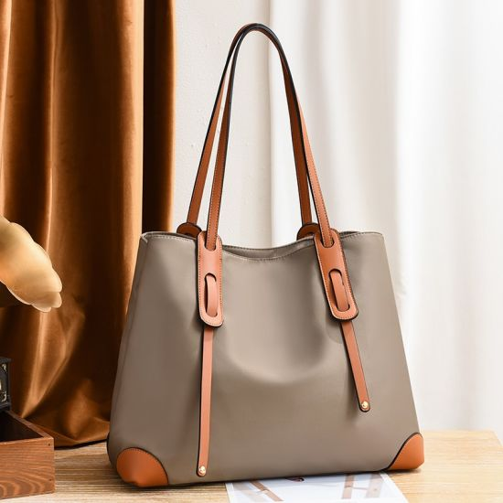 Leather Ladies Women Shoulder Shopping Tote Bag Classic Handbag