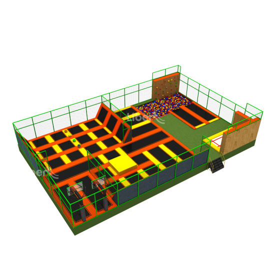 Professional Manufacturer Commercial Kids Large Indoor Trampoline Park