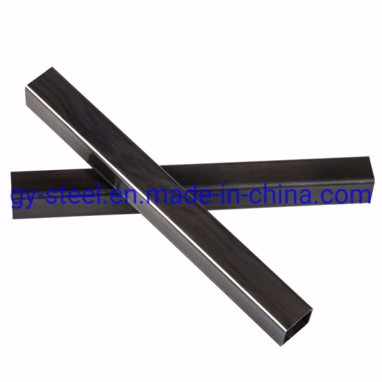 Square Hollow Section Black Iron Pipes
