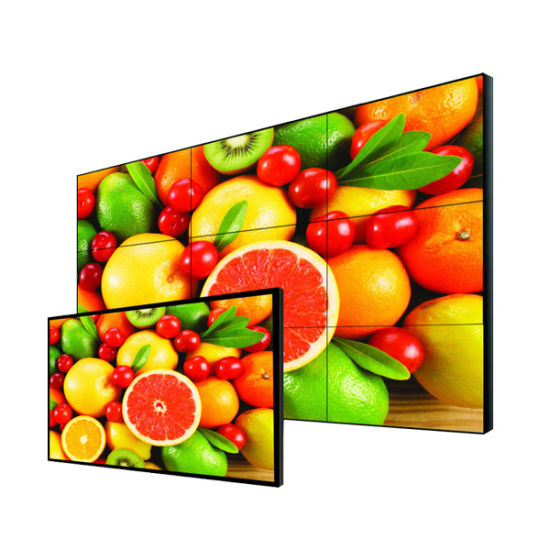 55 Inches Wall Monted LCD Outdoor Digital Kiosk with Intel Vpro Remote Control CPU Inside