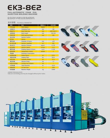 Shoe Injection Molding Machine EVA Slipper Shoe Sole Making Machine with Ce pictures & photos