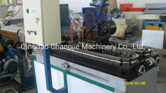 HDPE/PE/PP/PA/PVC Plastic Single/Double Wall Corrugated Pipe/Tube Extrusion Making Extruder Machine