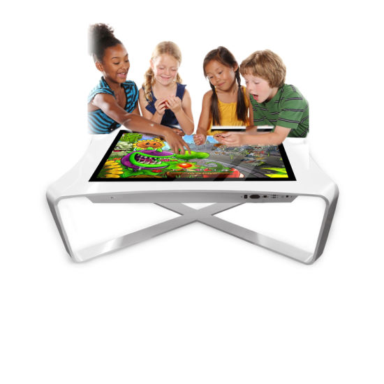 Aiyos 42 43 Inch Android Windows Smart Interactive Touch Screen Table Gaming Touch Table for Children