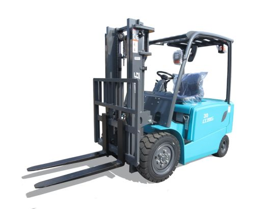 Sales 1.5 Ton 2 Ton 2.5 Ton 3 Ton Mini 4WD/2WD Electric Battery Forklift with Optional Controler