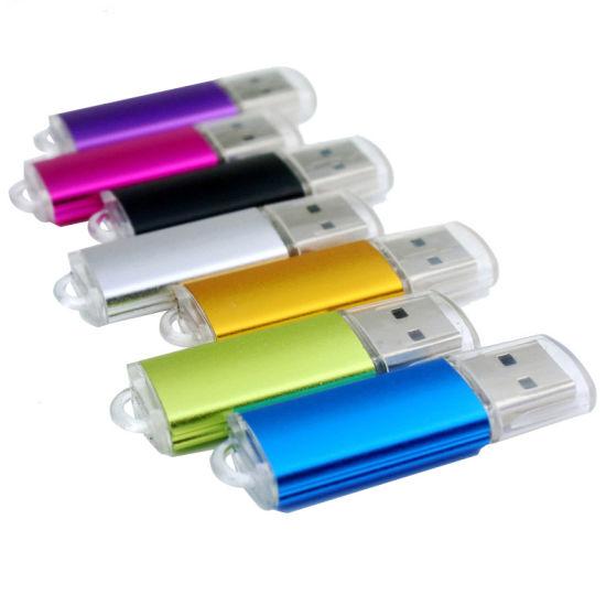 Colourful Plastic 4GB 8GB 16GB 32GB Cheap Flash Drive USB Drive with Print Logo (UL-M041)