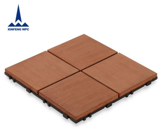 Xf Best Selling Decorative WPC DIY Decking Tiles