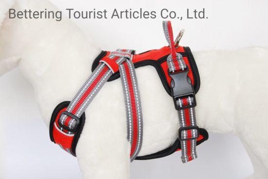 Anti Slip Reflectie Adjustable Dog Harness