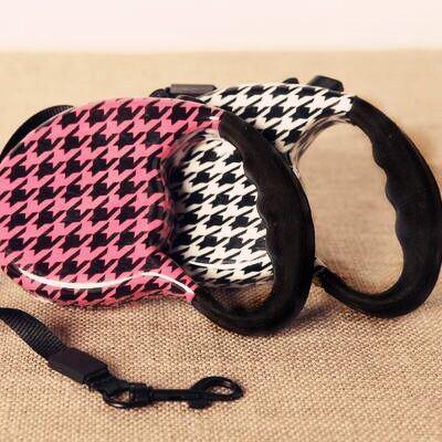 Pet Produtcs Wholesale Automatic Adjustable Retractable Extending Walking Dog Lead Pet Dog Leash
