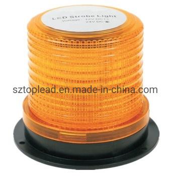 Wholesale DC10-30V LED Yellow Rotate Strobe Warning Beacon Emergency Safety Light