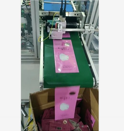 High Efficient Automatic Four Side Seal Kf94/KN95/N95 Fish Face Mask Packaging Machine with Wholesale Price
