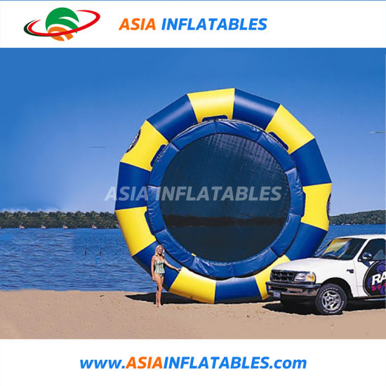 Funny Water Toys Inflatable Jump Water Trampoline pictures & photos