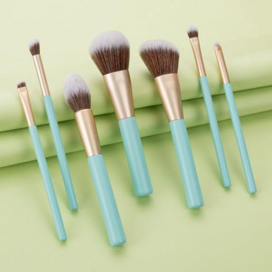 Private Label 7 PCS Makeup Brush Kit Professional Makeup Brushes