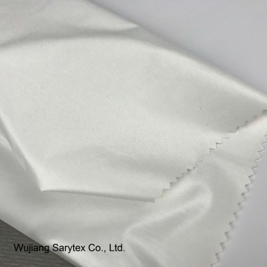 Pfd Fabric Weft Stretch Polyester Elastic Pongee Fabric with Oil Cire  pictures   photos 69cf7d16f