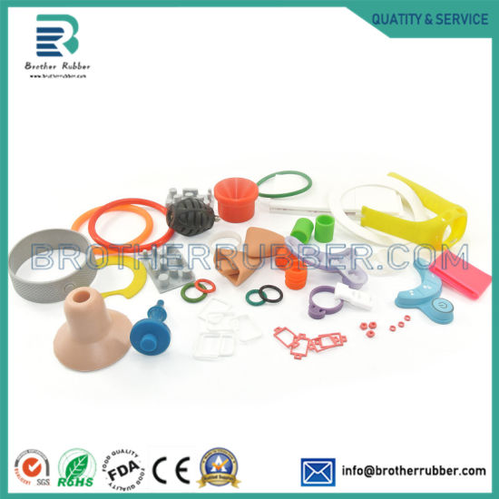 OEM ODM Custom Molded Silicone EPDM Nr SBR NBR Acm NR Rubber Molding Molded Industrial Parts Product Auto Rubber Parts