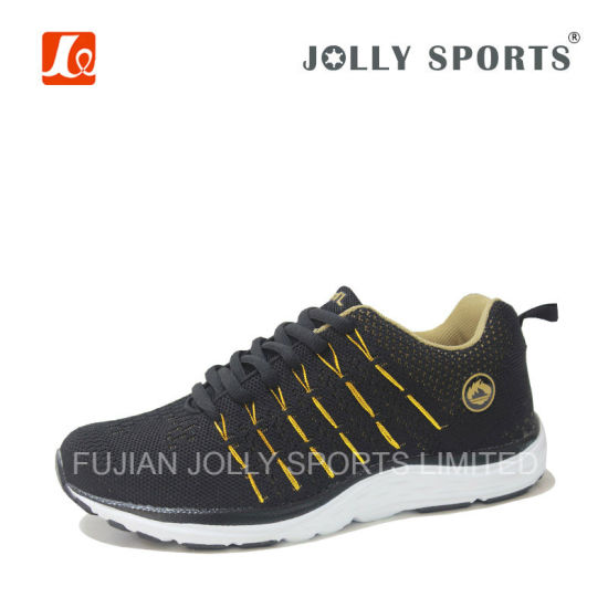 Fashion Design Comfortable Flyknit Sports Shoes Footwear for Men Women pictures & photos
