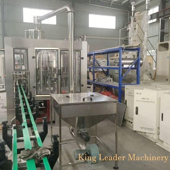 Full Automatic Mineral Liquid Water Bottle Washing Filling Capping Bottling Machine