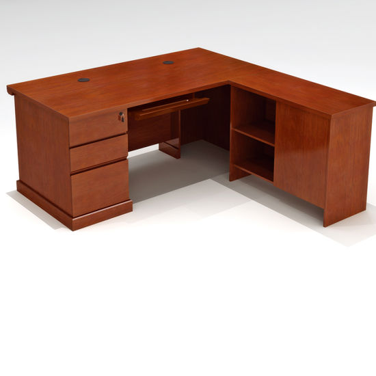 Modern Clic Executive Office Desk For Wooden Table