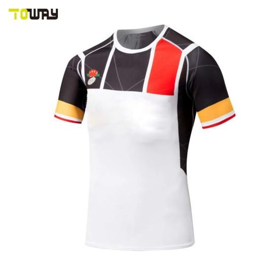 18d6ca7cfd China Touch Cheap Plain Custom Design Sublimation Rugby Jersey ...