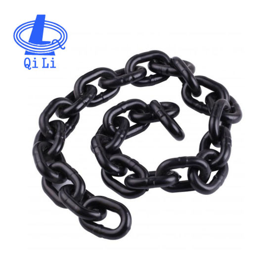 18mm High Strength Alloy Steel Mining G80 Welded Link Chain
