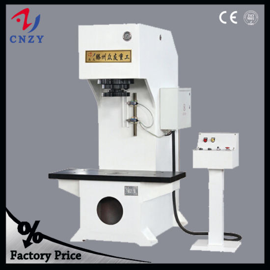 China C Frame Hydraulic Molding Motorcycle Spare Parts Press Machine ...