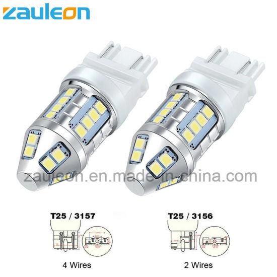 3157 LED DRL Daytime Running Light White 3156 3057 Automotive Light