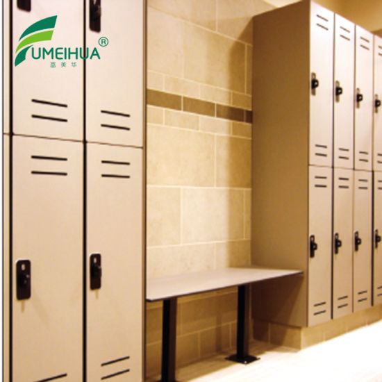 2 Doors Locker Fire Proof Gym Club Changing Room Cabinet