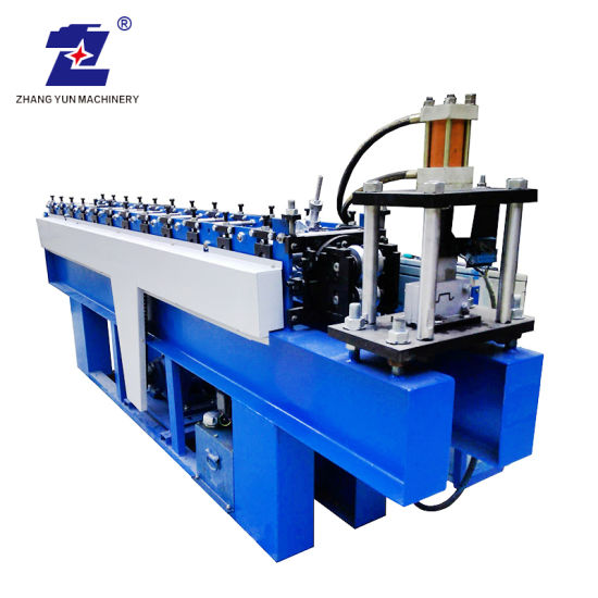 Metal Tile Aluminium Galvanized Carbon Steel Perforated Trough Sheet Cable Tray Track Trunking Cold Drawn/Drawing Roll/Rolling/Roller Making Forming Machine