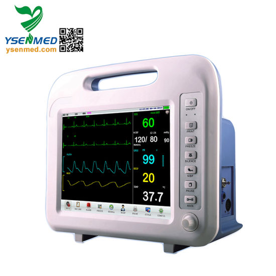 Ysf6 Meidcal Hospital Color 12.1 Inches Multi-Parameter Patient Monitor pictures & photos