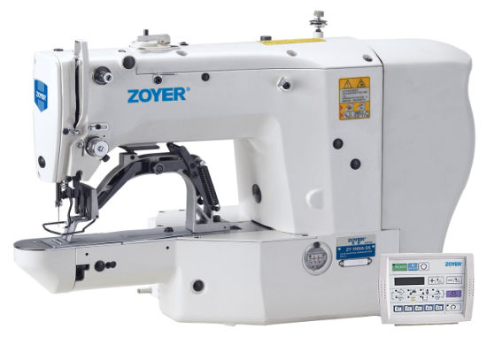 Zy1900A Zoyer Direct Drive Bar Tacking Sewing Machine