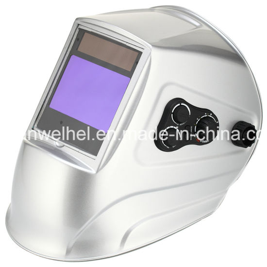Solar Powered TIG / MIG Auto Darkening Automatic Welding Helmet / Grinding Mask (WH9604)