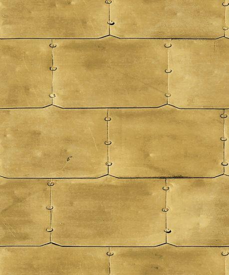 Interior Wall Decorative Golden 3d Wallpaper For Living Room