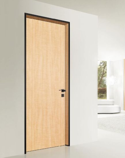 China Aluminum Frame Fire Rated Single Doors - China Wooden