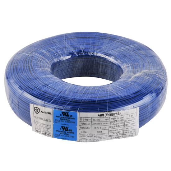 Flexible Stranded UL Approved UL1569 Hook-up Wire pictures & photos