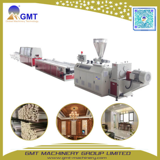 300mm PVC WPC Wall Panel Hollow Board Sandwich Profile Extrusion Machine